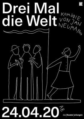 Bild: DREI MAL DIE WELT - Komödie von Jan Neumann
