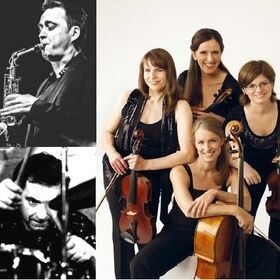 Bild: Reiner Klausfelders Utopian Circle - feat. Das Elisen-Quartett