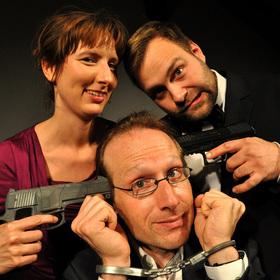 Bild: Fast Forward Theatre: Mordlust - Improvisierte Krimi-Komödie - Open-Air-Veranstaltung zum 5-jährigen MordLust-Jubiläum