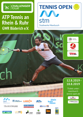 Bild: Tennis Open Stadtwerke Meerbusch 2019 - ATP Tennis an Rhein & Ruhr - Groundticket