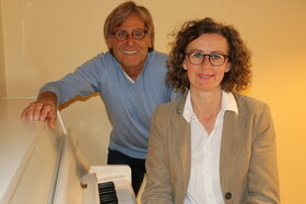 Bild: Ulrike Koch und Ulrich Rach - Lyrik trifft Klassik