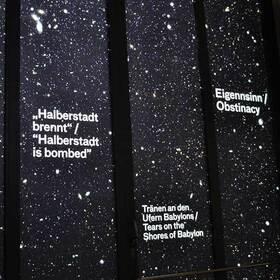 Bild: Der Kluge-Kosmos: Sternenkarte der Begriffe - Ausstellungsführung mit Christoph Streckhardt