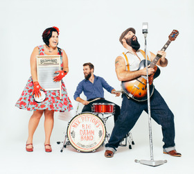 Bild: The Reverend Peyton´s Big Damn Band -