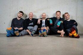Bild: Alte Bekannte: Bunte Socken