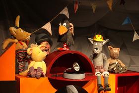 Bild: Der kleine Rabe Socke - Schnuppe Figurentheater
