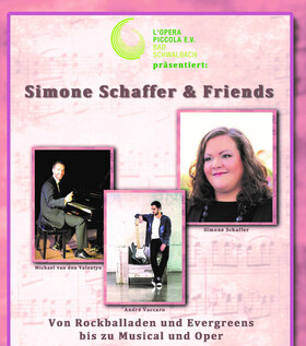 Bild: Simone Schaffer & Friends - Von Rockballaden und Evergreens zu Musical und Oper
