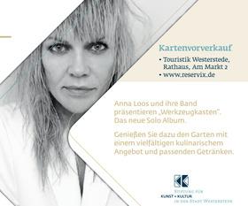 Bild: Anna Loos - Werkzeugkasten - Eine Veranstaltung der Stiftung für Kunst + Kultur in der Stadt Westerstede