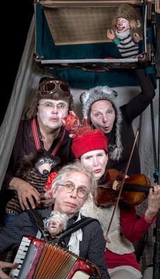 Bild: Schöne wilde Winternacht - Dorftheater Siemitz