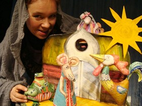 Bild: Das Tierhäuschen - Figurentheater Steffi Lampe