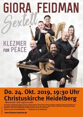 Bild: Giora Feidman Sextett - Klezmer for Peace