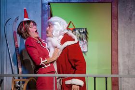 Bild: Weihnachten auf dem Balkon - Kammertheater Karlsruhe