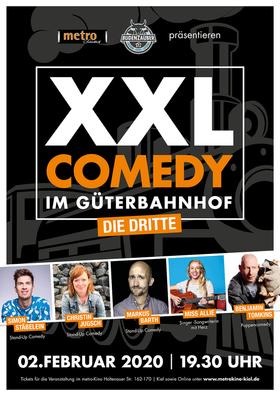 XXL Comedy im Güterbahnhof -die dritte- - Stäblein, Jugsch,Barth,Miss Ellie, Tomkins