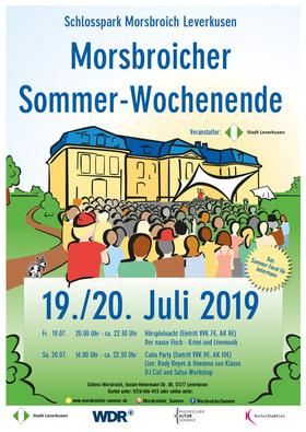 Bild: Hörspielnacht beim Morsbroicher Sommer-Wochenende 2019 -