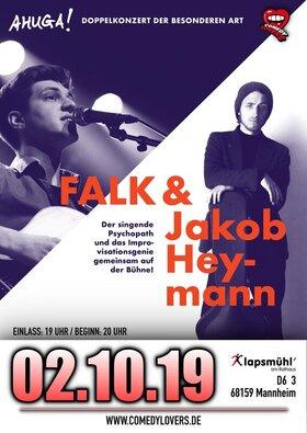 Bild: Falk Liedermacher & Jakob Heymann - Doppelkonzert der besonderen Art