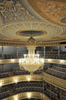 Bild: Theaterführung, Treffpunkt: Bühneneingang - Blick hinter den Kulissen
