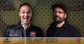 Dennis Boyette & Amir Shahbazz - Solo Show - StandUp Comedy
