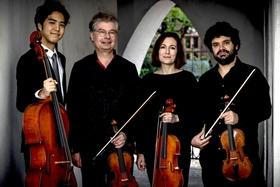 Bild: Lenbach-Quartett - Werke von Mendelssohn Bartholdy, Mozart und Dvorak