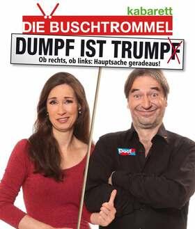 Bild: Die Buschtrommel - Dumpf ist Trump