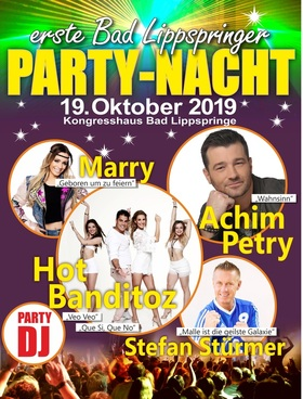 Bild: Erste Bad Lippspringer Party-Nacht - Mit Achim Petry, Hot Banditoz, Marry & Stefan Stürmer
