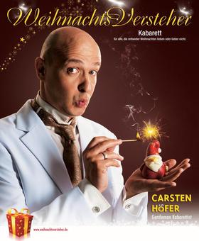 Bild: Carsten Höfer - WeihnachtsVersteher Kabarett für alle, die entweder Weihnachten lieben oder nicht