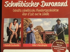 Bild: Schwäbischer Duranand - Geballte schwäbische Mundartgeschichten über d´leut aus´m Ländle