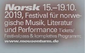 Bild: Festivalpass NORSK Festival  15.10.-19.10.2019