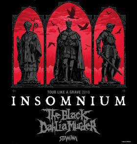 Insomnium + The Black Dahlia Murder + Stamina