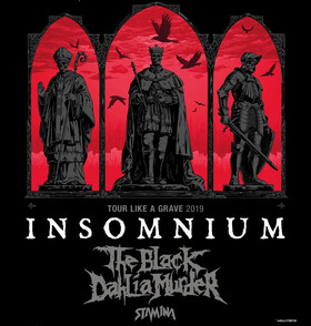 Bild: Insomnium + The Black Dahlia Murder + Stamina