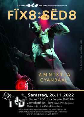 Fïx8:Sëd8 - Gäste: Amnistia & Black Nail Cabaret
