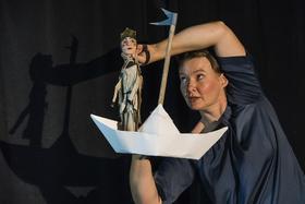 """Bild: Kinderspaß im Kloster """"Die Prinzessin auf der Erbse"""" - Theater Randfigur, frei nach Hans Christian Andersen"""