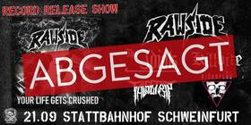 RAWSIDE - Record Release Show + THE IDIOTS