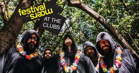 Bild: moers festival at the clubs: Satanique Samba Trio