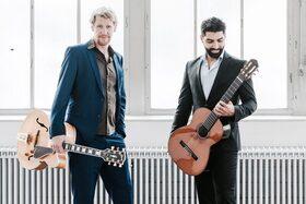 Bild: Coskun- Wuppinger Duo, 2 Gitarren zwischen Jazz und Klassik