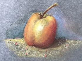 Bild: Pastell-Workshop - Der Apfel - ein Klassiker der Pastellmalerei