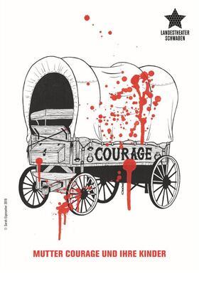 Bild: Mutter Courage und ihre Kinder - von Bertolt Brecht