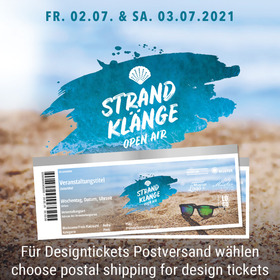 Strandklänge Open Air 2021 - CAMPING-TICKET