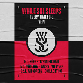 WHILE SHE SLEEPS - live in Wiesbaden