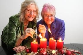 Bild: Monika Kampmann & Ingrid Ittel-Fernau - Das Gastspiel muss leider abgesagt werden.