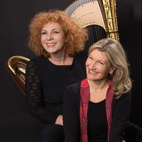 Bild: Nina Hoger und Ulla van Daelen - Das Gastspiel musste leider abgesagt werden
