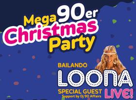 Bild: MEGA 90er Christmas Party - Erlebe die größte Christmas Party der Region (mit Popstar LOONA)
