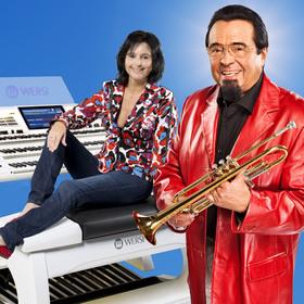 Bild: Sehnsuchtsmelodien - Trompetenlegende Walter Scholz und Claudia Hirschfeld  (Wersi-Orgel)