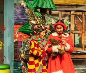 Bild: Pippi feiert Weihnachten - Gastspiel vom Wittener Kinder- und Jugendtheater