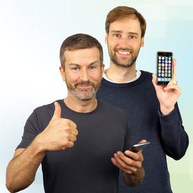 Bild: Levato - Smartphone-Vortrag - Andreas Dautermann und Kristoffer Braun