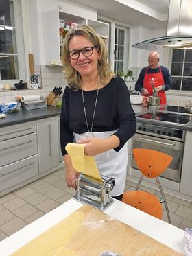 Bild: Mediterrane Küche mit Carola Lüttich