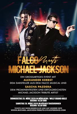 Bild: FALCO meets MICHAEL JACKSON - Das Musical Konzert Ereignis 2020