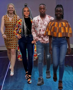 Bild: African Special / Fashion Trends and Arts 2019 - Mode - Tanz - Kunst