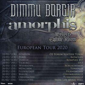 Bild: DIMMU BORGIR / AMORPHIS / WOLVES IN THE THRONE ROOM - European Tour 2020