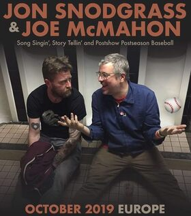 Bild: JON SNODGRASS & JOE MCMAHON - OCTOBER 2019 EUROPE