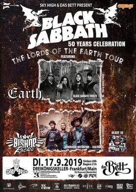 Bild: Black Sabbath • 50 Years Celebration • Live: Earth & Lord Bishop Rocks