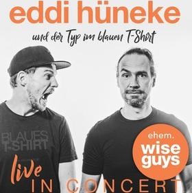 Bild: Eddi Hüneke und der Typ im blauen T-Shirt